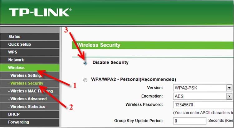 убираем пароль с Wi-Fi