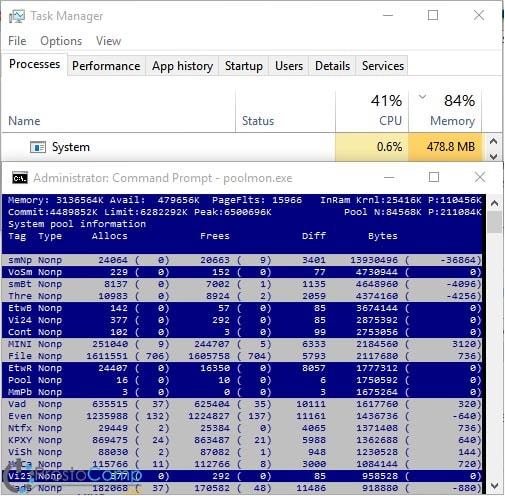 """Изучим проблему """"пожирания"""" памяти процессом System в Windows 10"""