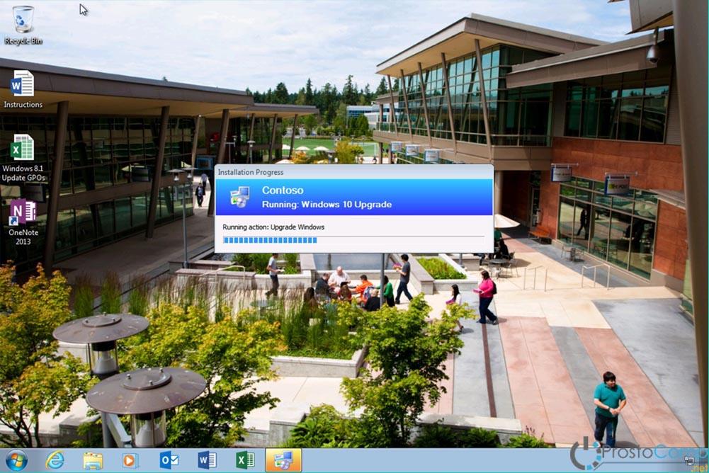 Развертывание Windows 10