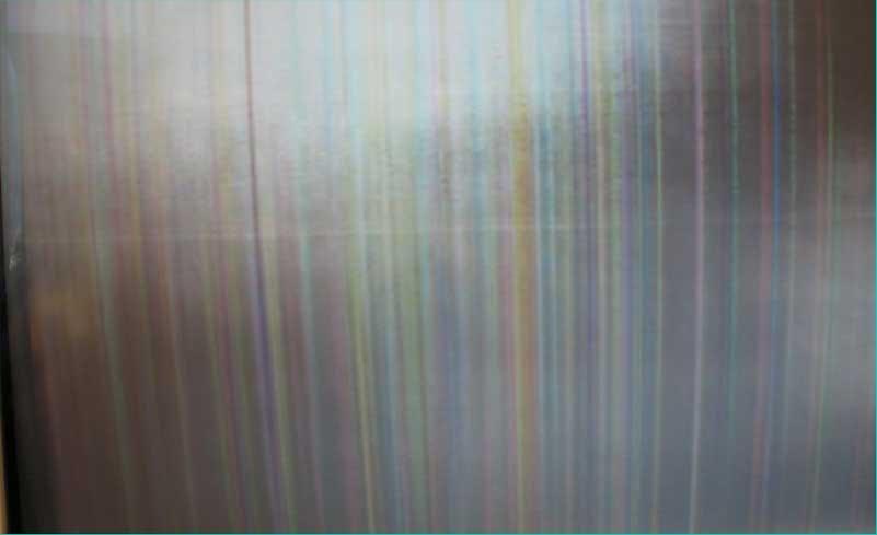 вертикальные полосы на экране ноутбука