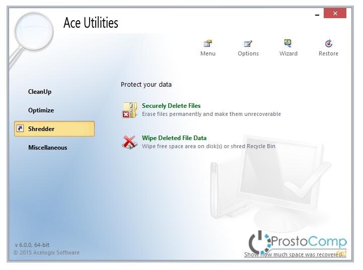 скачать ace utilities на русском