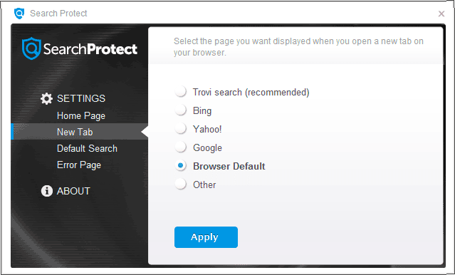 программаSearch Protect