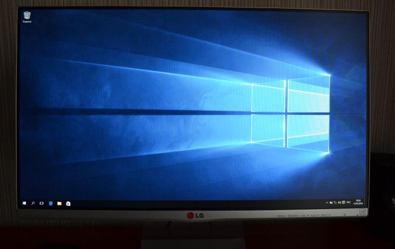 Windows 10 установлена на компьютер с флешки