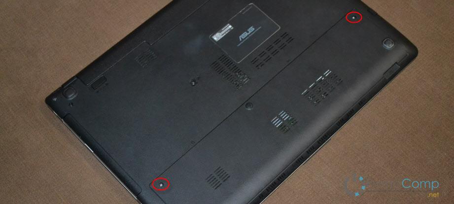 Замена SSD накопителя на ноутбуке