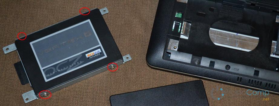 Установка SSD накопителя своими руками
