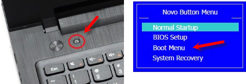 Boot Menu Lenovo
