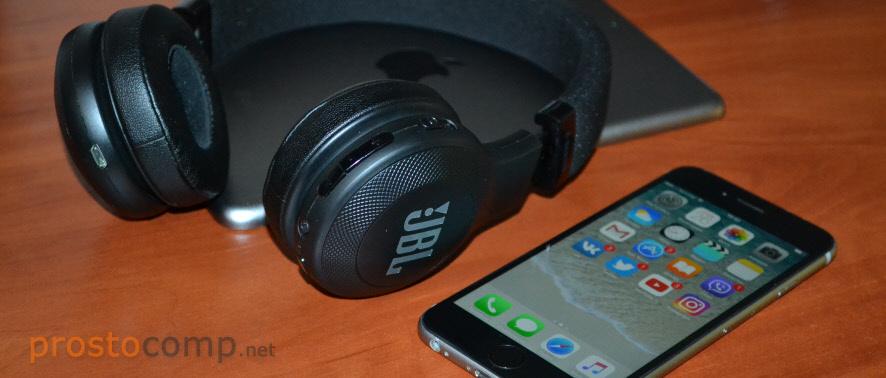Подключение Bluetooth наушников к iPhone