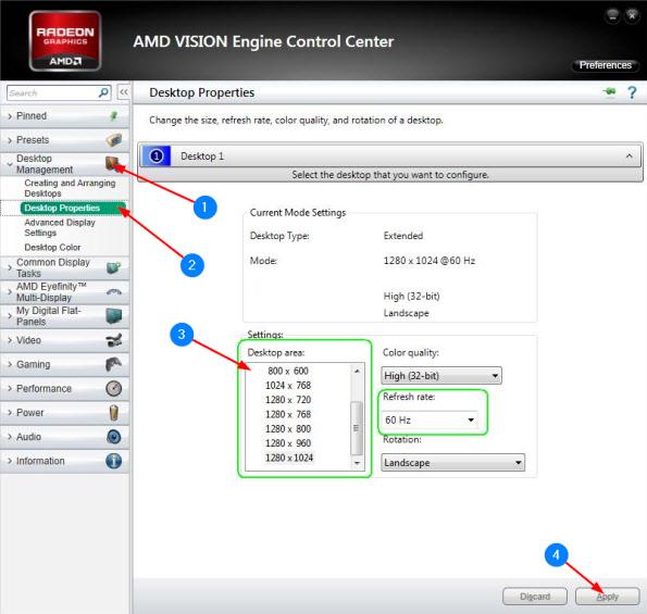Настройка AMD Catalyst в Windows 10