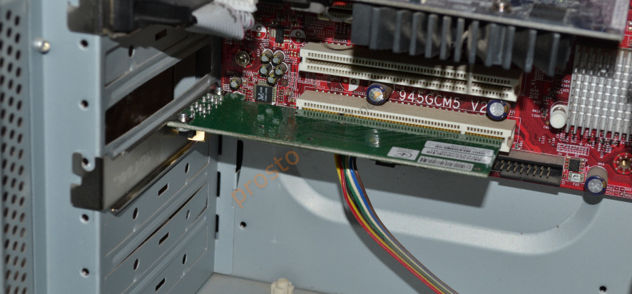Установка PCI Wi-Fi адаптера в компьютер
