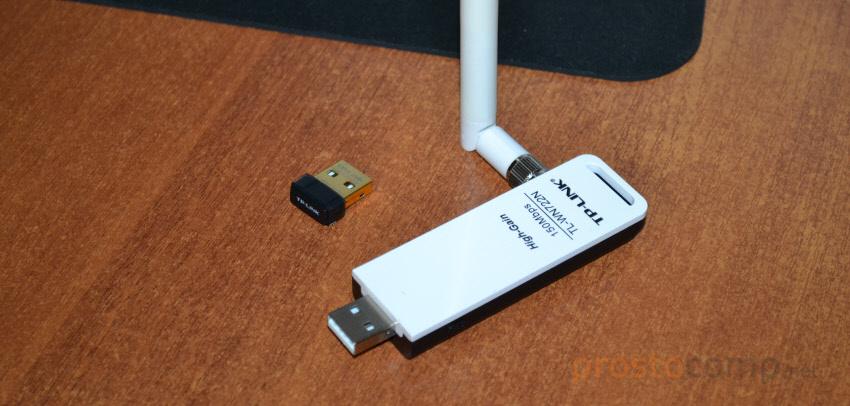 Фото USB Wi-Fi адаптеров для стационарных компьютеров