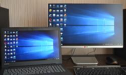Ноутбук + монитор по HDMI