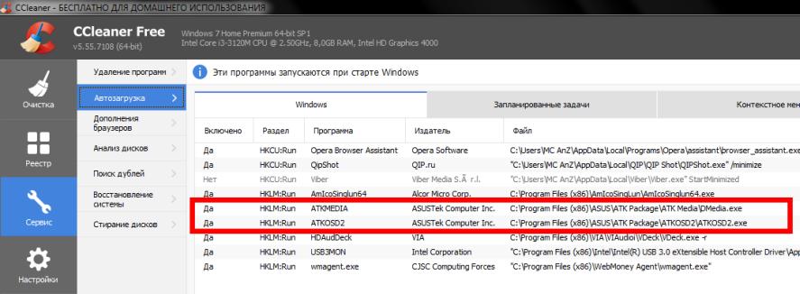 Проверка драйвера который отвечает за работу клавиши Fn на ноутбуке